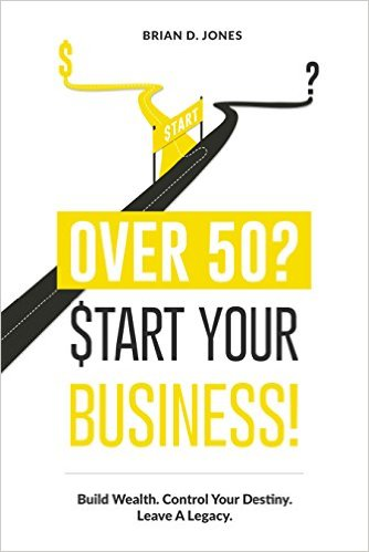 Book cover - Over 50? Start Your Business!