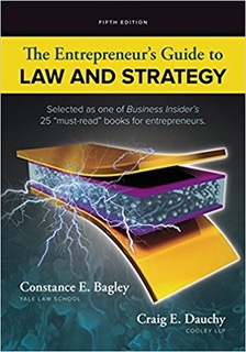 Book cover - The Entrepreneur's Guide to Law and Strategy