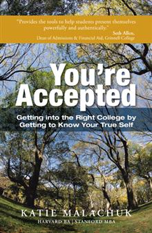 book cover - You're Accepted