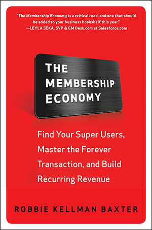 book cover for The Membership Economy