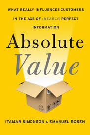 book cover for Absolute Value