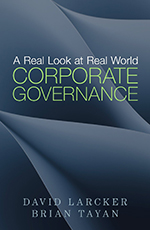 Book cover of A Real Look at Real World Corporate Governance