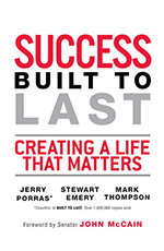 book cover for Success Built to Last