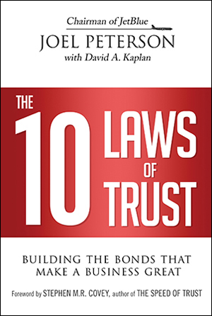 book cover of 10 Laws of Trust