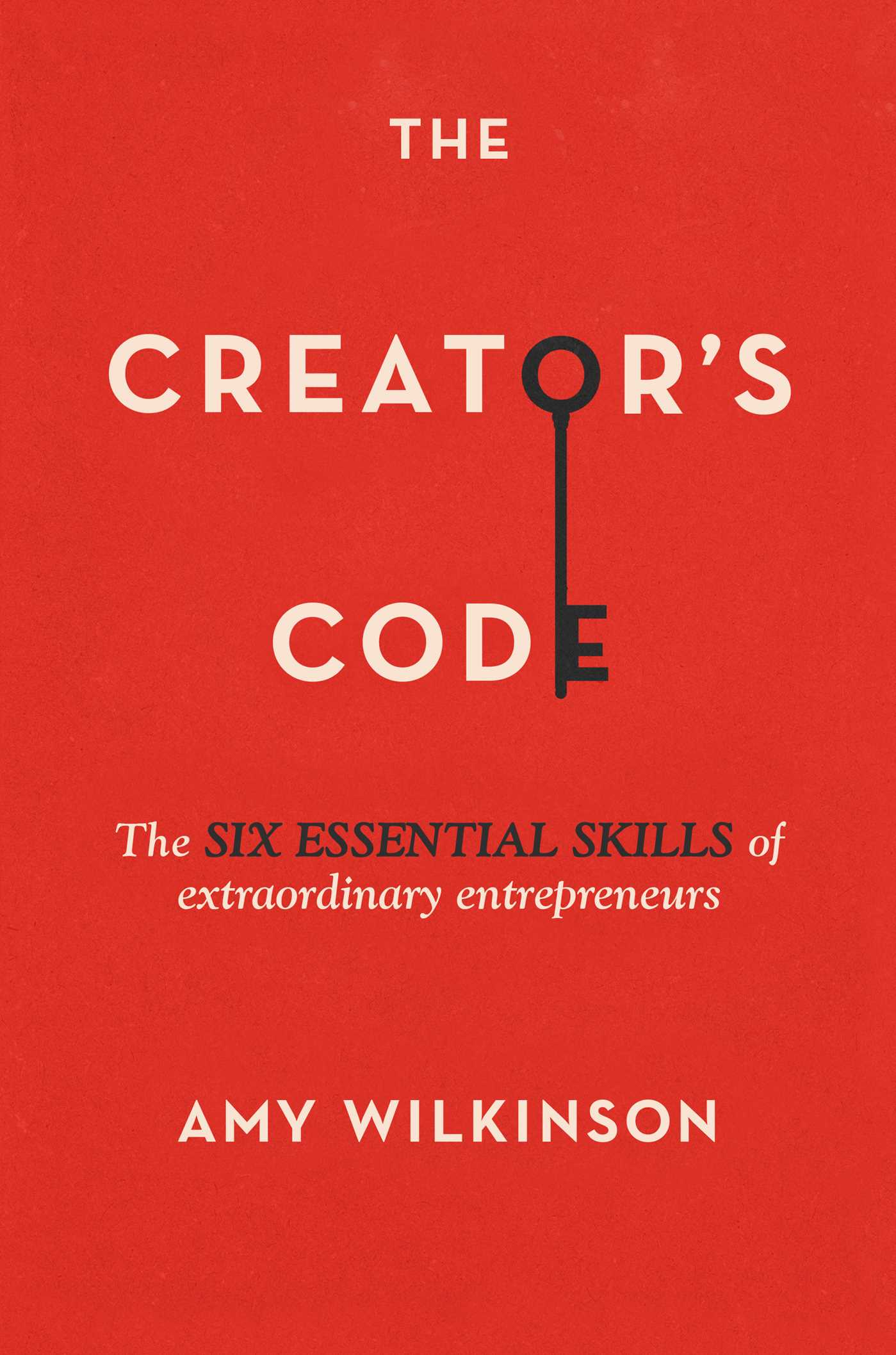 book cover for the Creator's Code