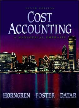 managerial accounting basic cost concept Chapter 1 an introduction to managerial accounting and cost concepts.