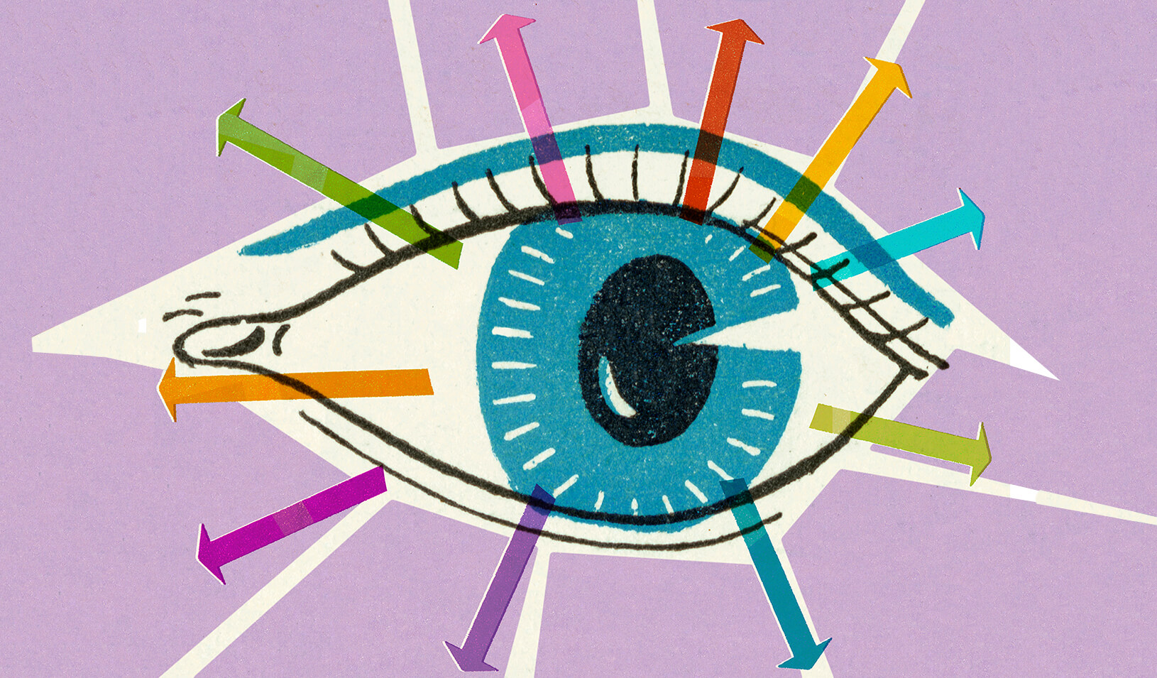 An eye seeing many things | iStock/CSA-Printstock