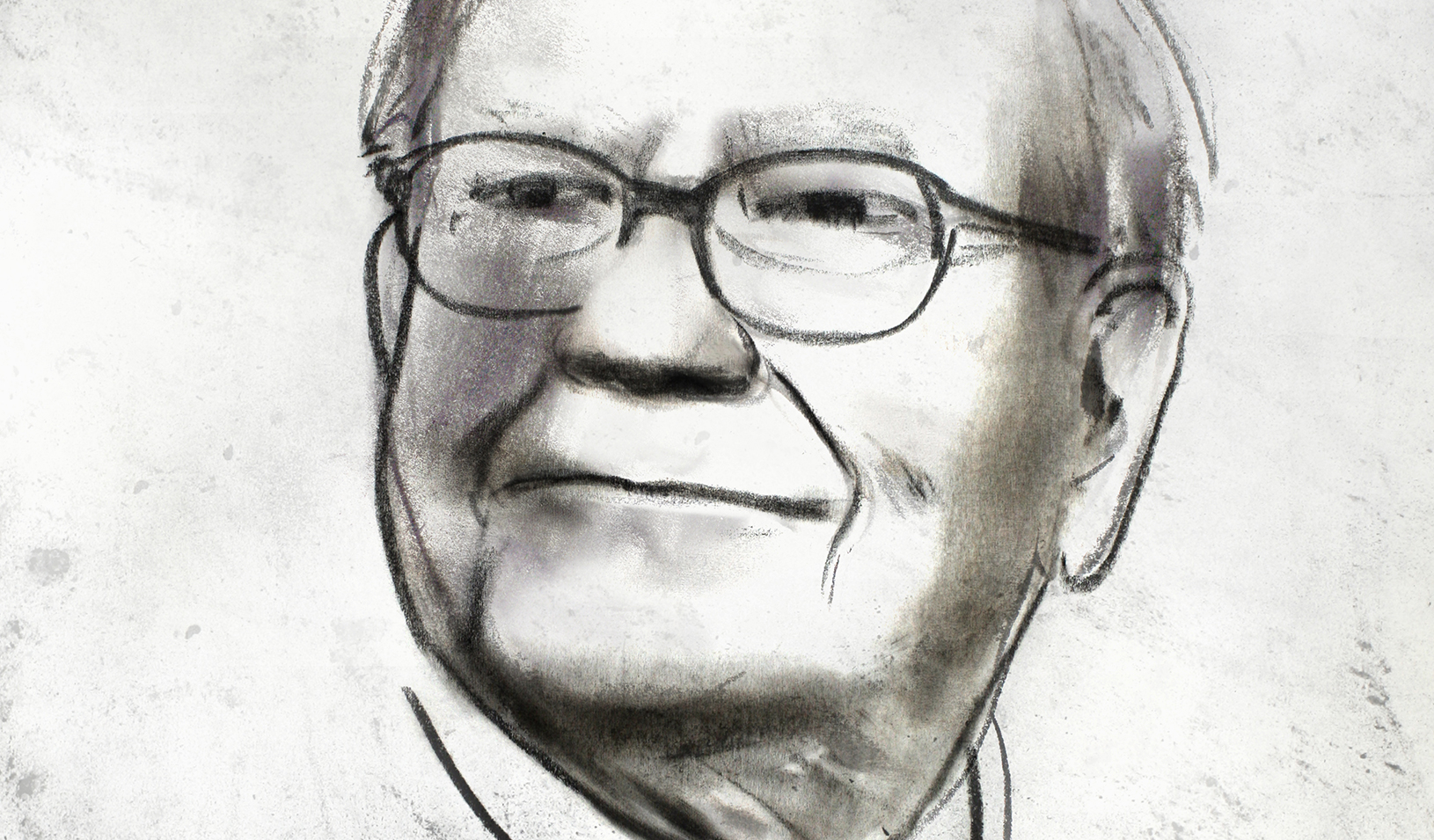 Illustration of Warren Buffett | Vivienne Flesher