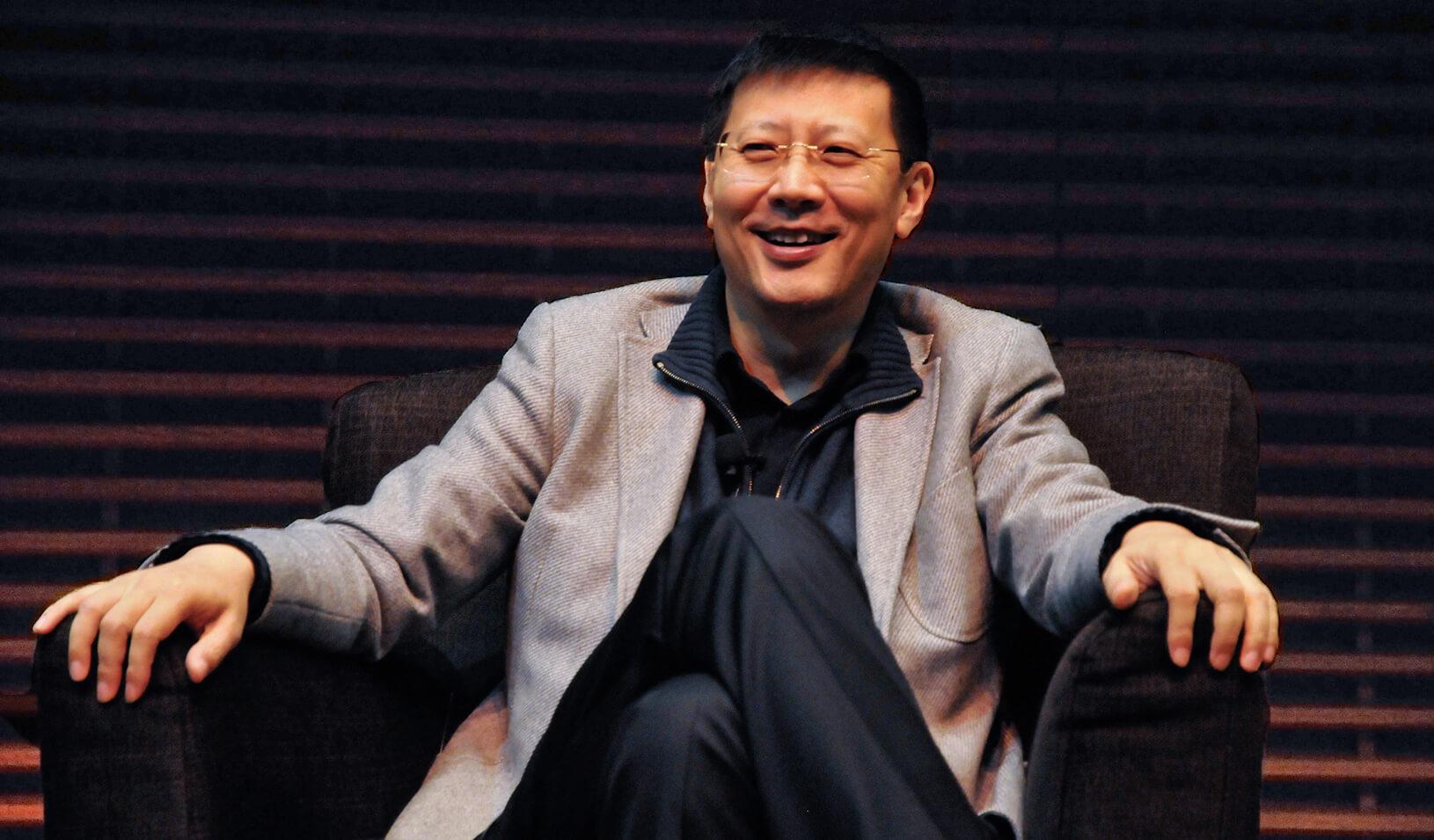 Neil Shen, the founding managing partner of Sequoia Capital China.   Natalie White