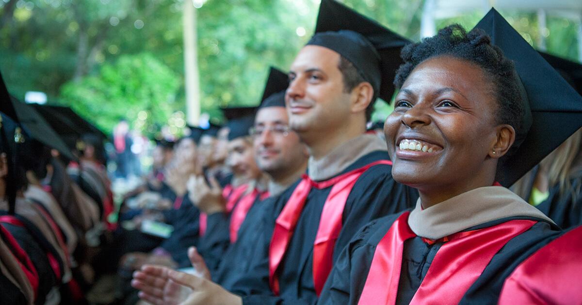 graduates at the 2016 diploma ceremony