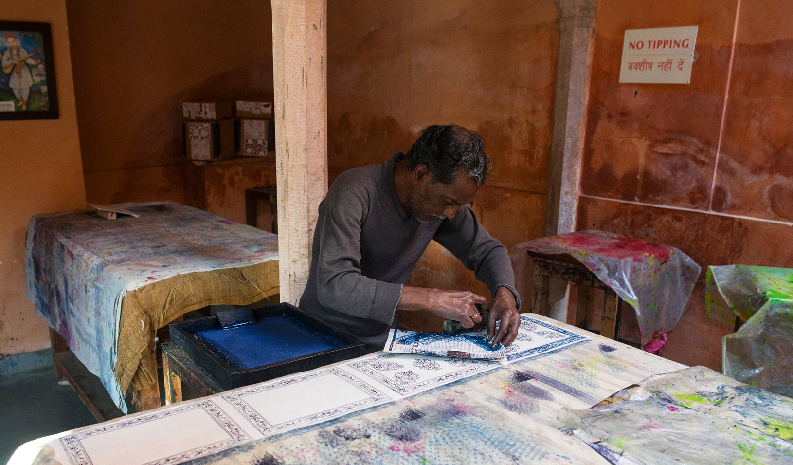 Craftspeople are the mainstay of India's non-farming, rural economy. | Courtesy TOTO Express