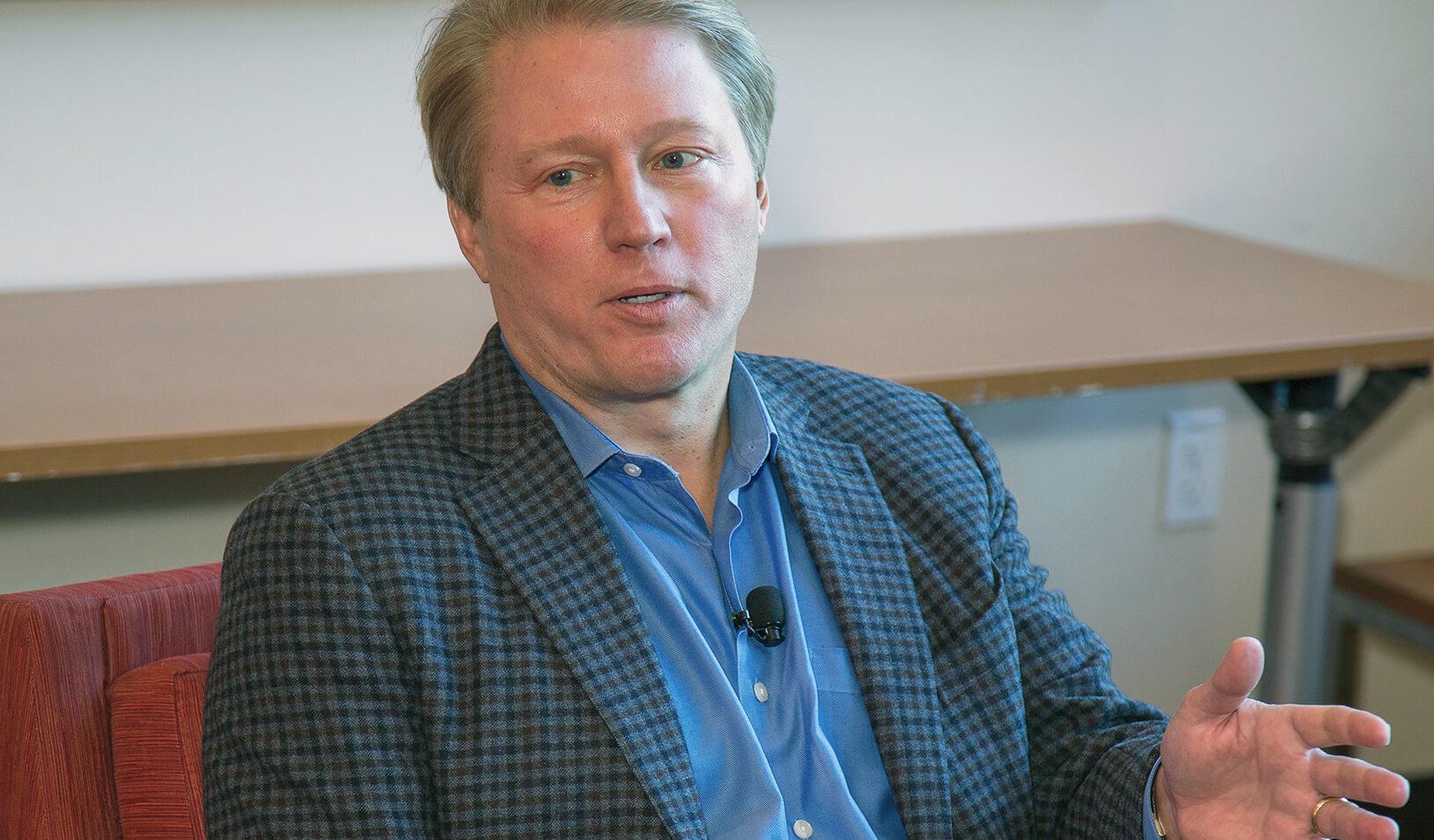 Kent Thiry, CEO of DaVita HealthCare Partners | Stacy Geiken Photography