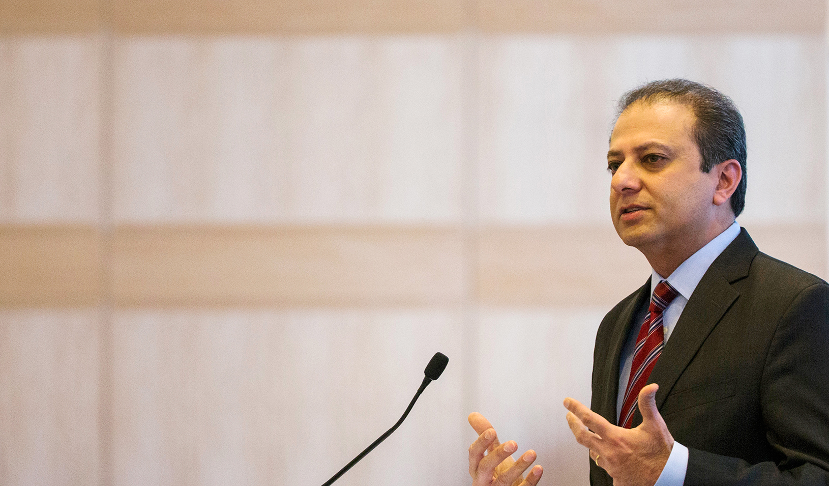Preet Bharara, U.S. Attorney for the Southern District of New York | Reuters/Lucas Jackson