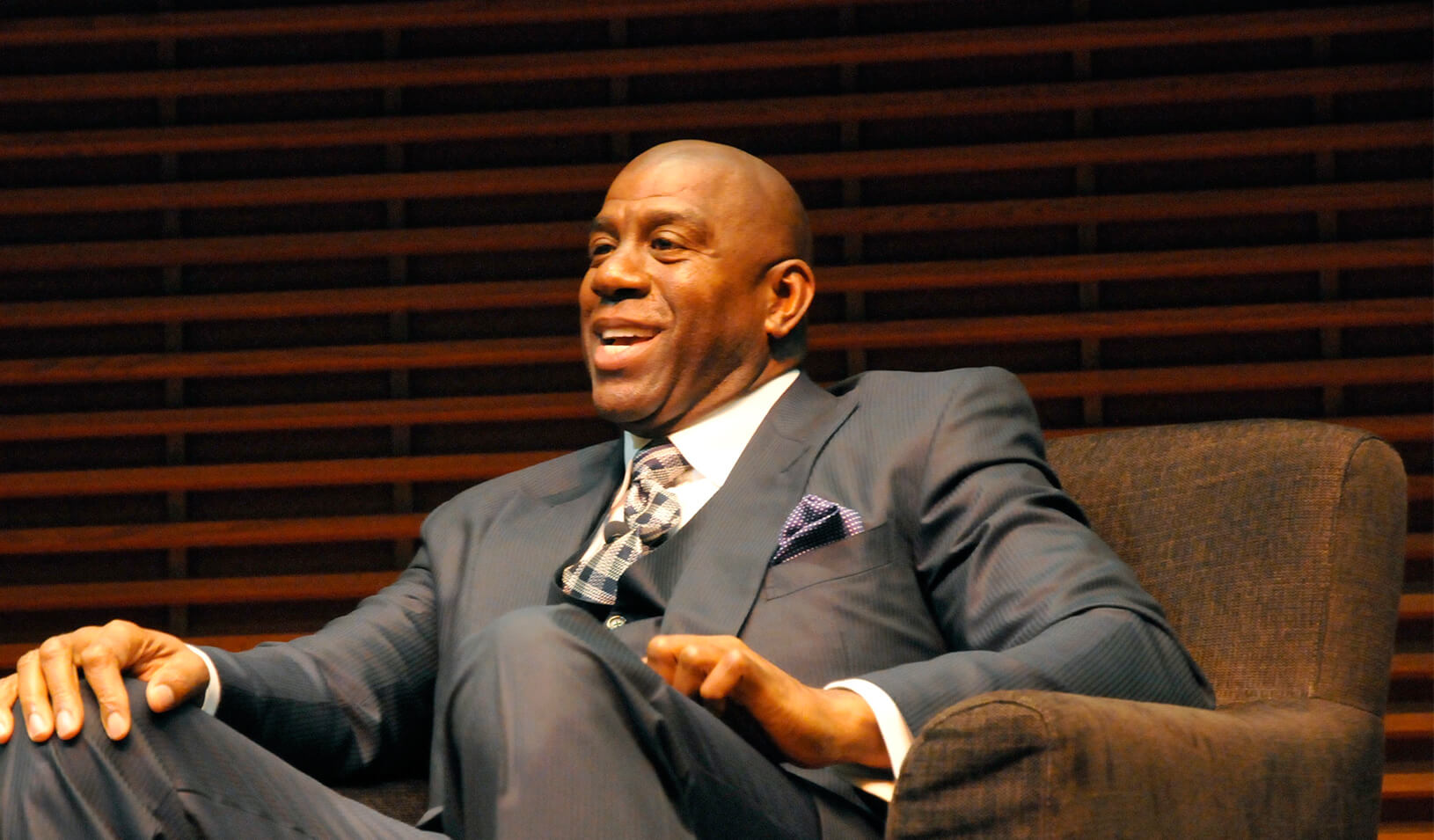 A photo of Magic Johnson
