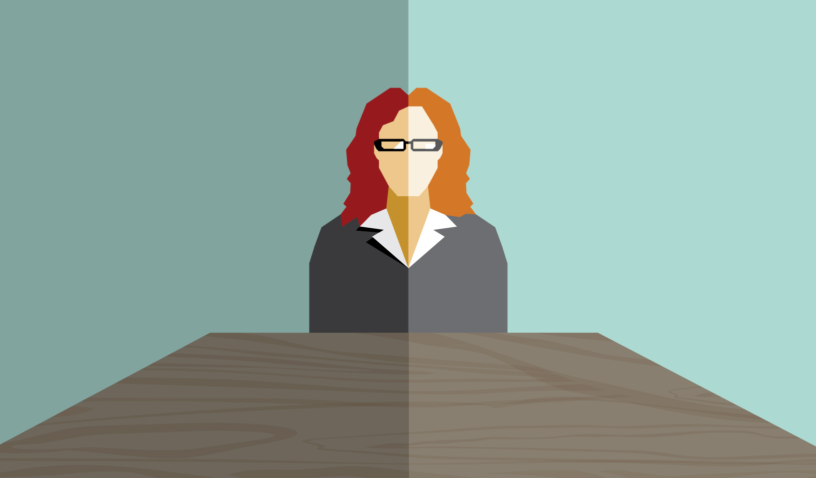Illustration of woman seated at a table | Tricia Seibold/iStockPhoto/etraveler