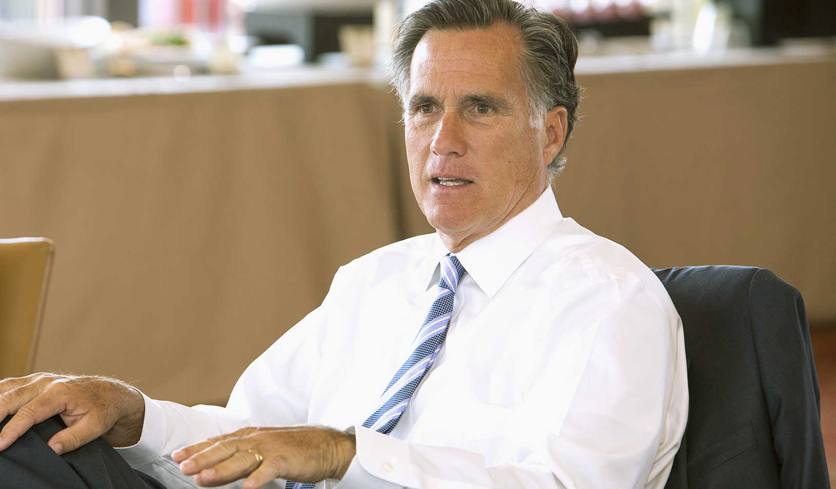 mitt romney leadership Mitt romney has penned an op-ed for usa today in which he sharply criticizes president obama for what romney sees as a lack of leadership.