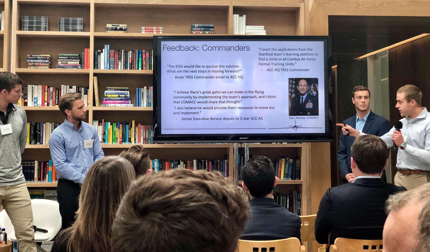 Students Develop Award-Winning App That Streamlines U.S. Air Force Training