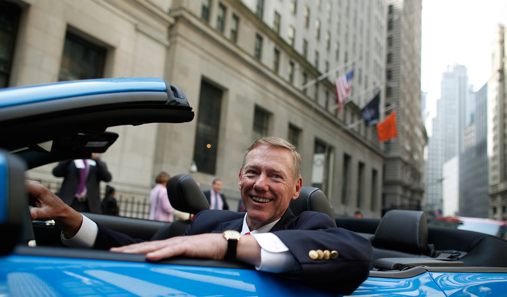 CEO of Ford Motor, Alan Mulally. | Reuters/Brendan McDermid