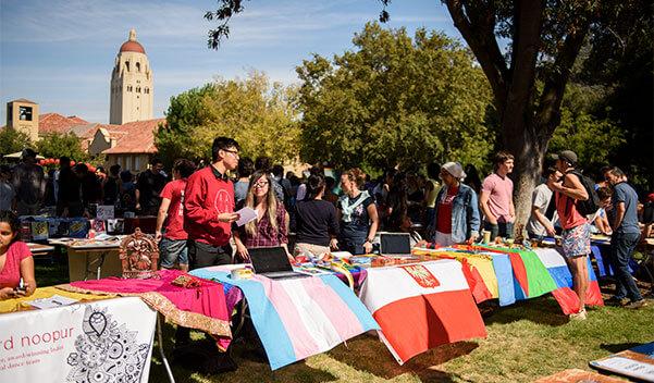 Student club fair