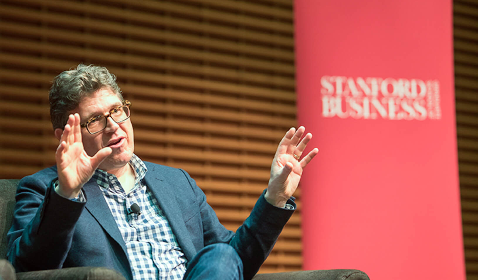 Jostein Solheim at Stanford GSB Global Speaker Series | Liz Walker