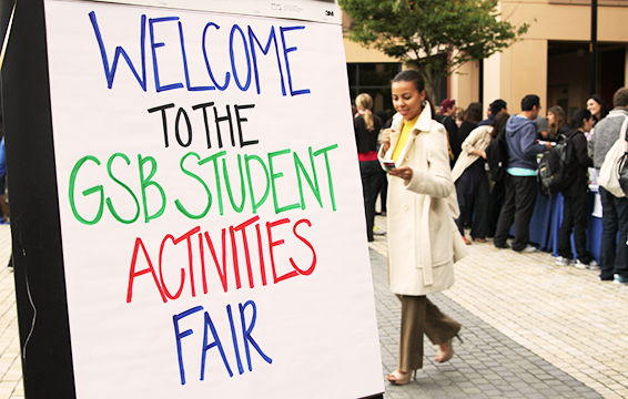 Stanford GSB Student Activities Fair