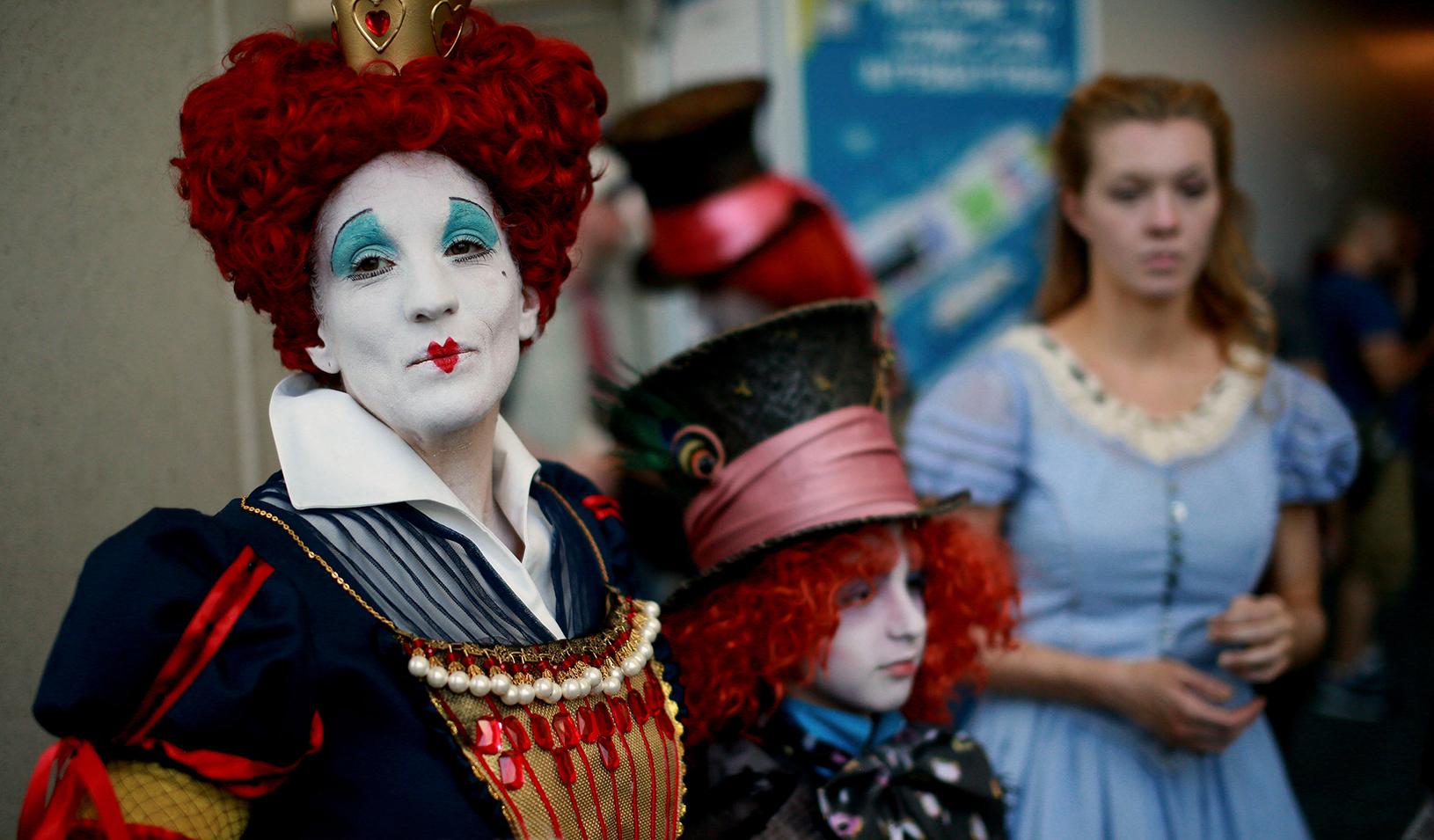 "The ""Red Queen"" | Reuters/Sandy Huffaker"