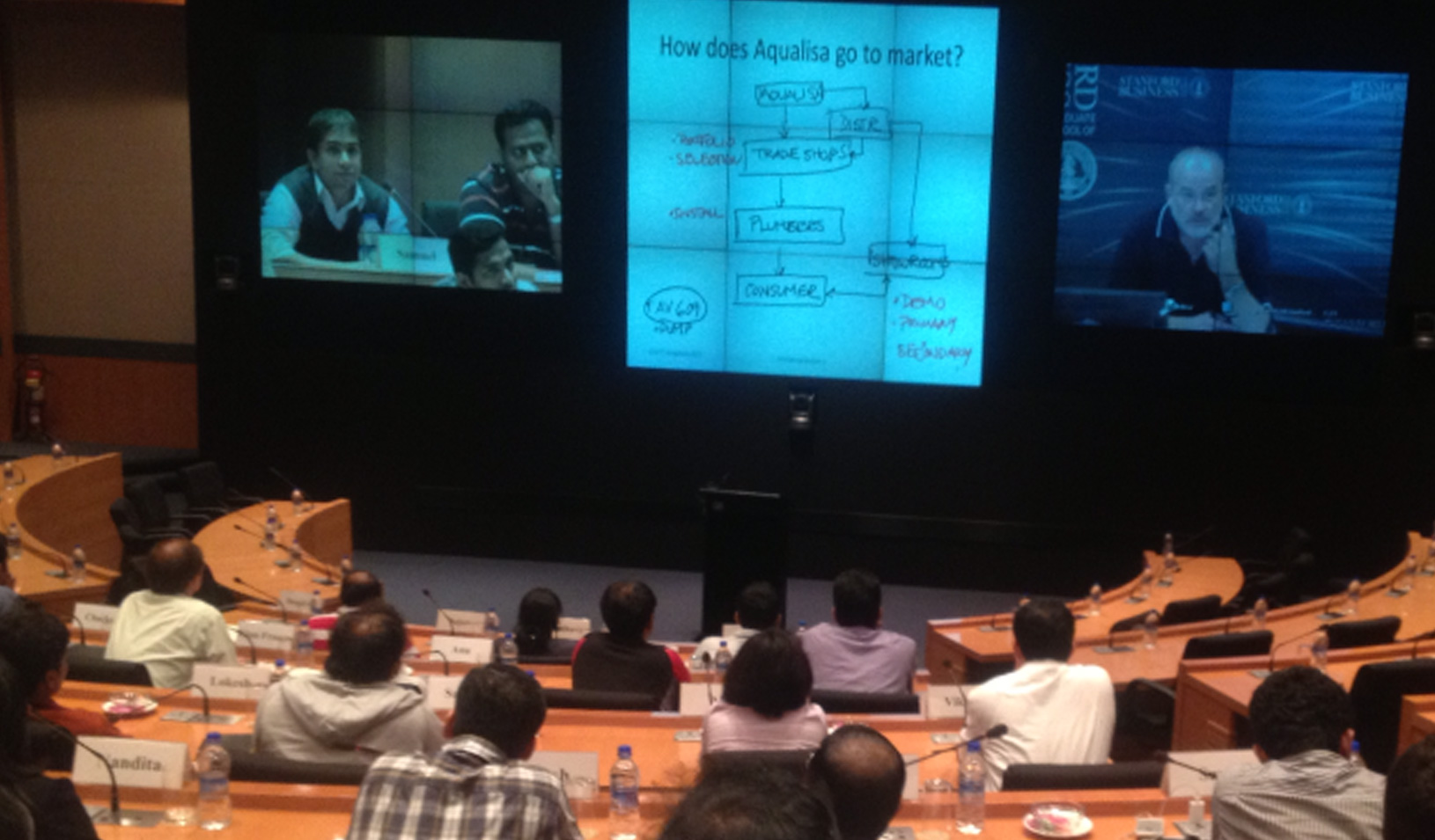 Students in a Stanford Ignite-Bangalore class
