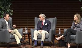 Dean Jonathan Levin, Bill Meehan, and Kim Jonker