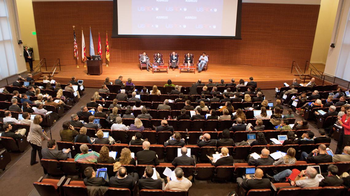 Speaking engagement in Cemex auditorium