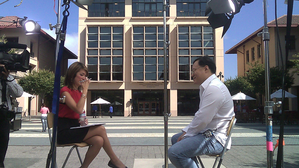 Joe Chen on-camera interview