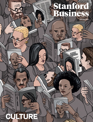 Cover of Stanford Business magazine - Autumn 2017