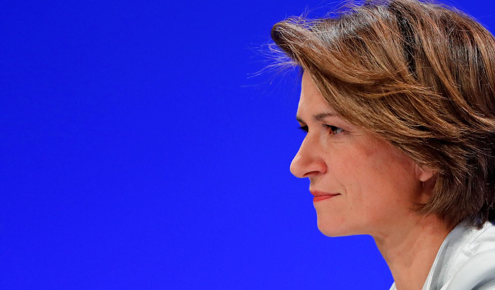 Isabelle Kocher, new Chief Exective Officer of French gas and power group Engie.