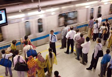 India. The Issue: Using social engineering to change the way people behave. The Moment: Learning that the New Delhi metro system had trained volunteers to form lines and model orderly conduct in stations and on trains.