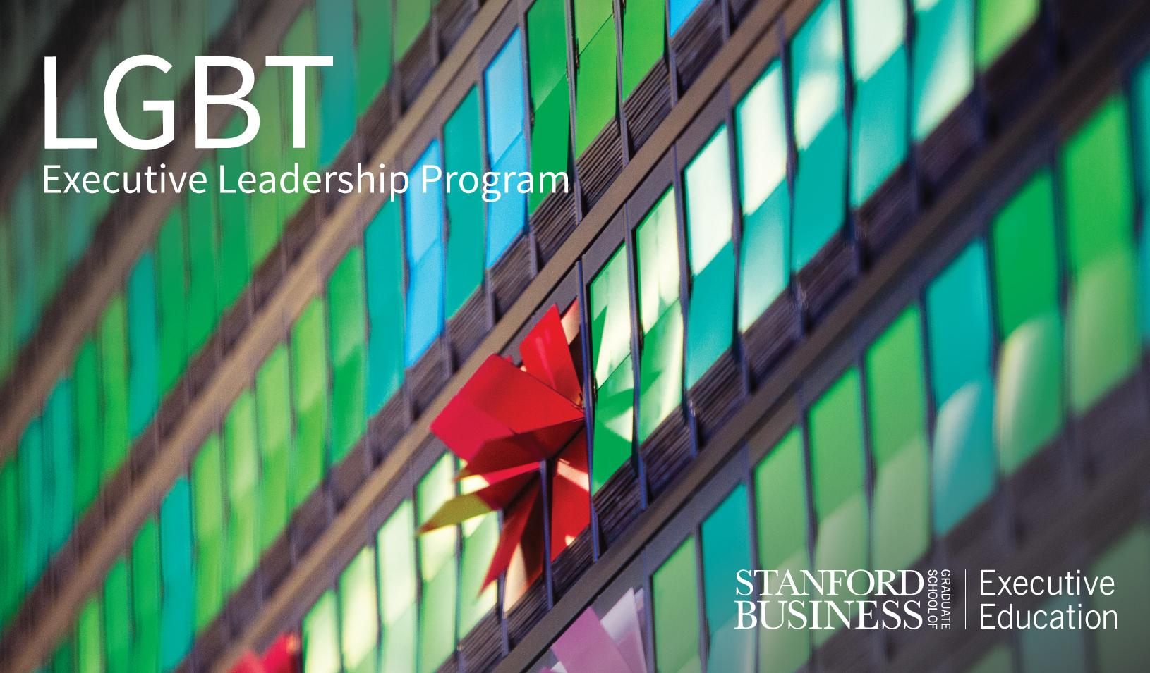 Stanford Introduces Executive Program for LGBT Leaders ...