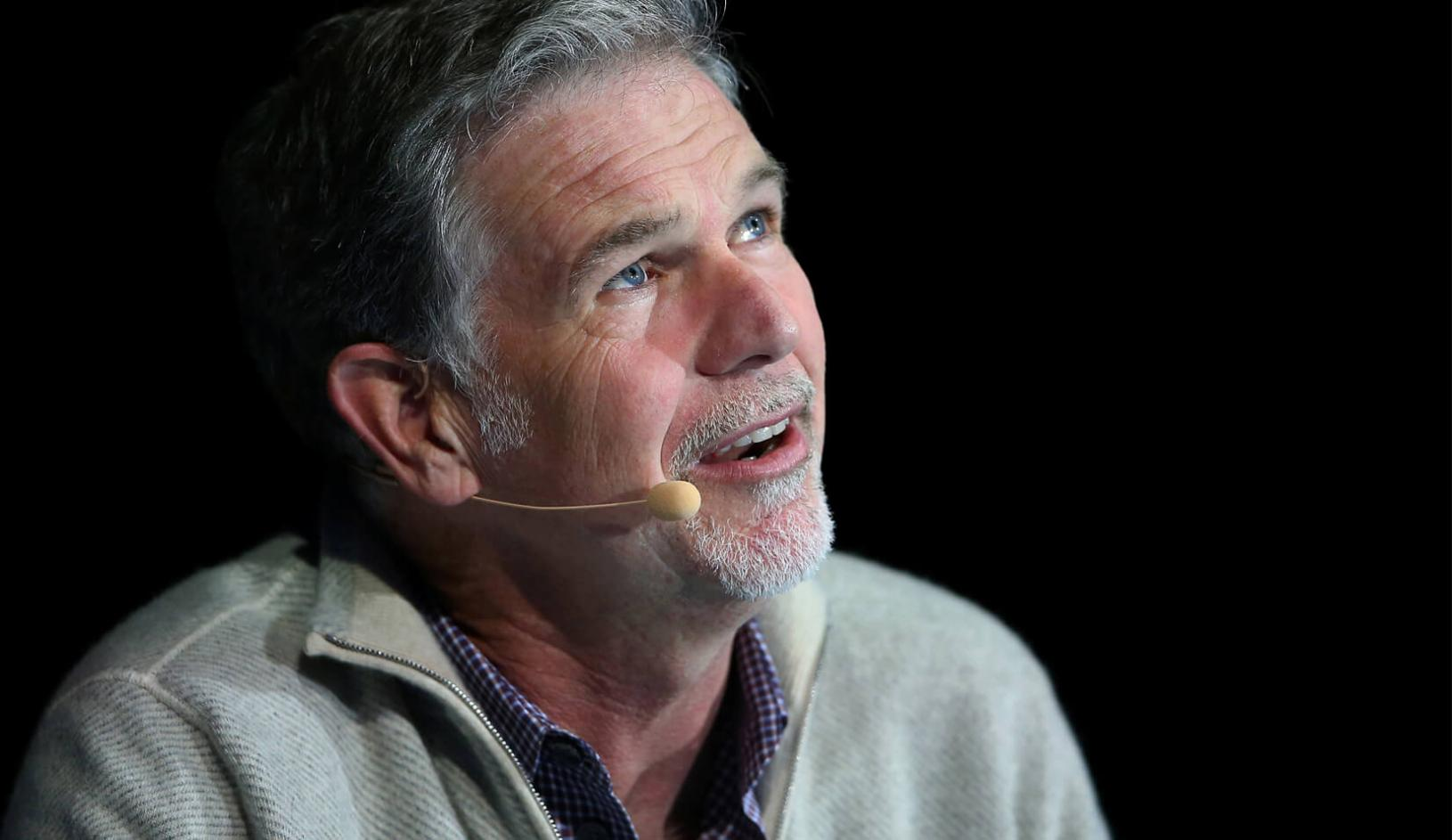 Reed Hastings, co-founder and CEO of Netflix. | Reuters/Mike Blake