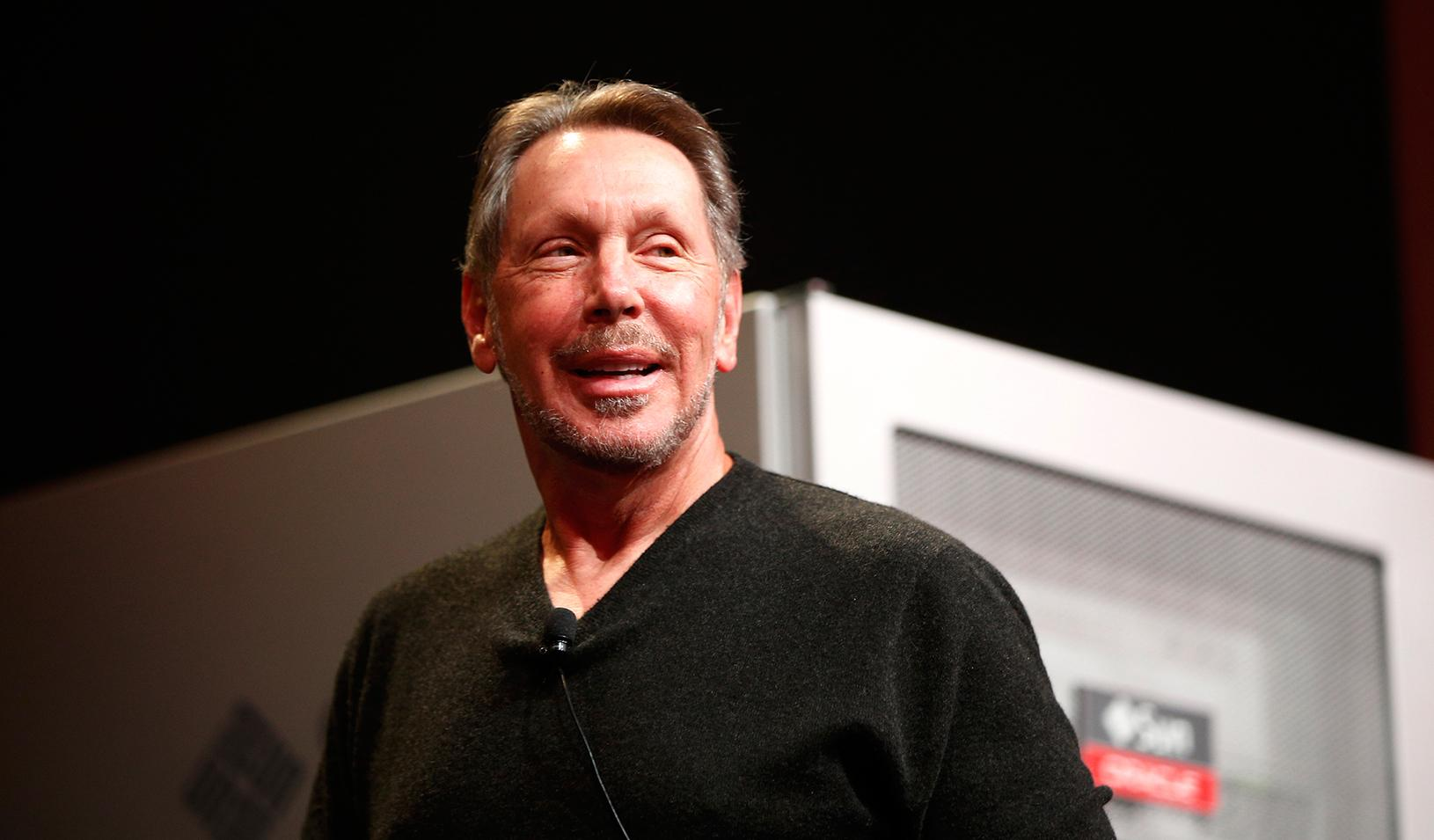 Oracle cofounder Larry Ellison in 2013
