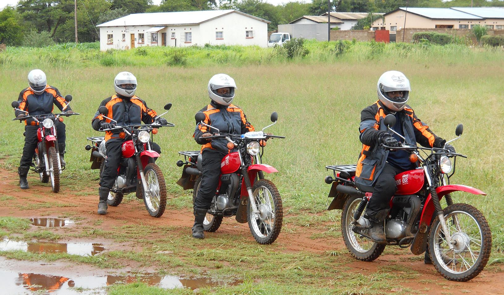 a team of researchers explores health care delivery in africa