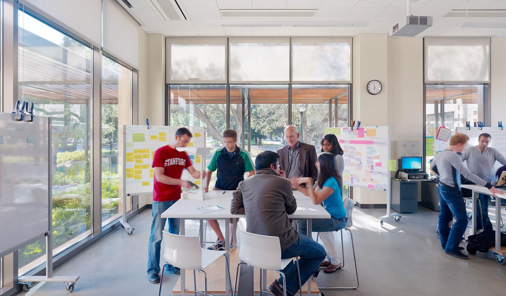 Innovation In Classroom Structure ~ How design thinking improves the creative process
