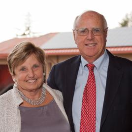 Dottie and Robert King, MBA '60
