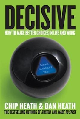 Cover of the book, Decisive