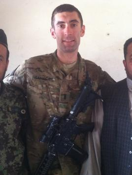 Sean Gahagan, MBA '16, officer, U.S. Army.