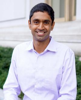 Vivek Viswanathan is running for California state treasurer. | Photo courtesy of Annie Khoa