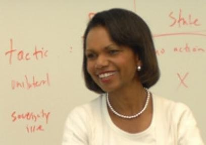 Condoleezza Rice Managing Global Transitions Stanford