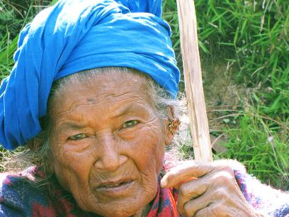 old woman who lost her home