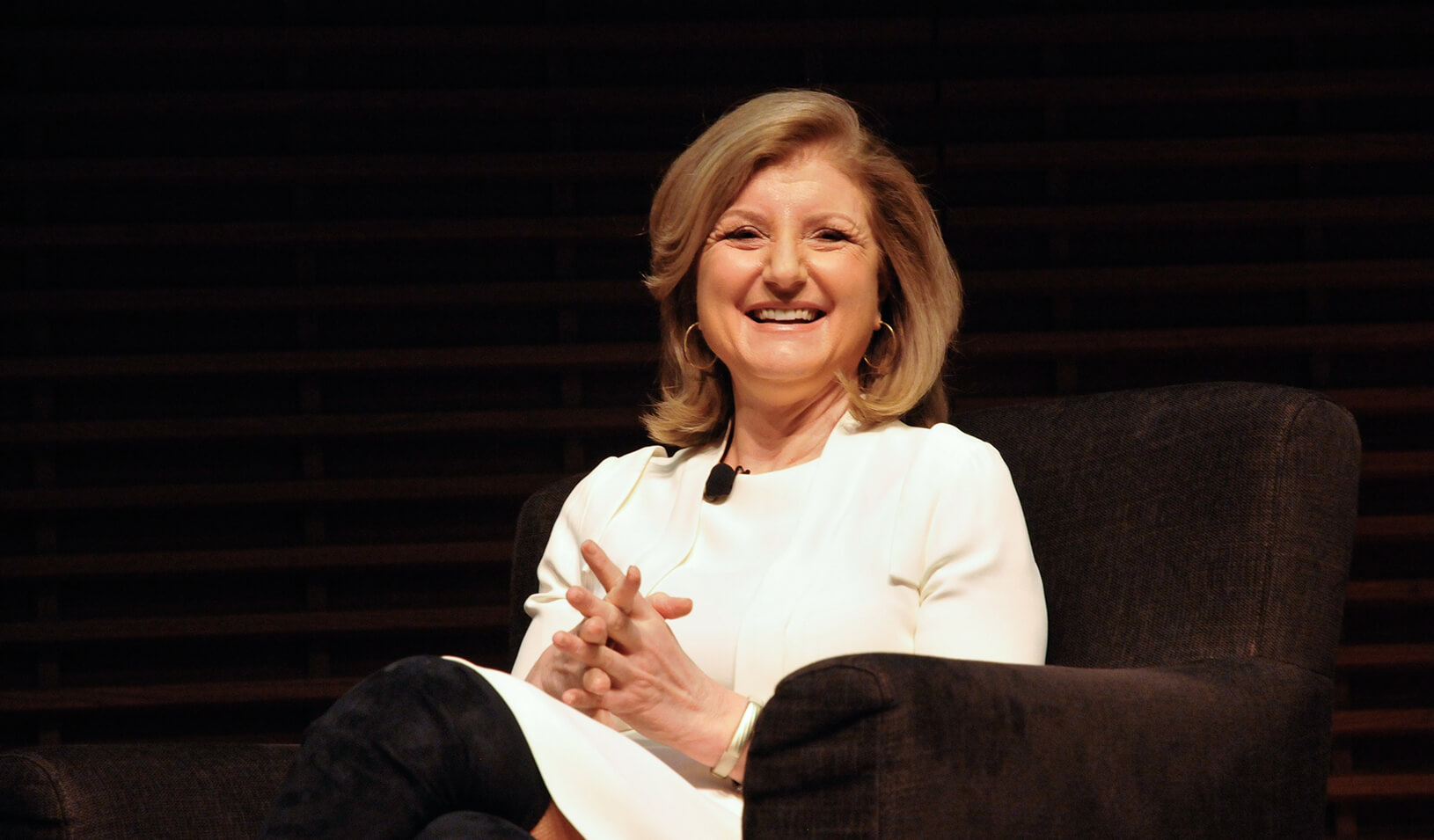 Arianna Huffington | Photo by Natalie White