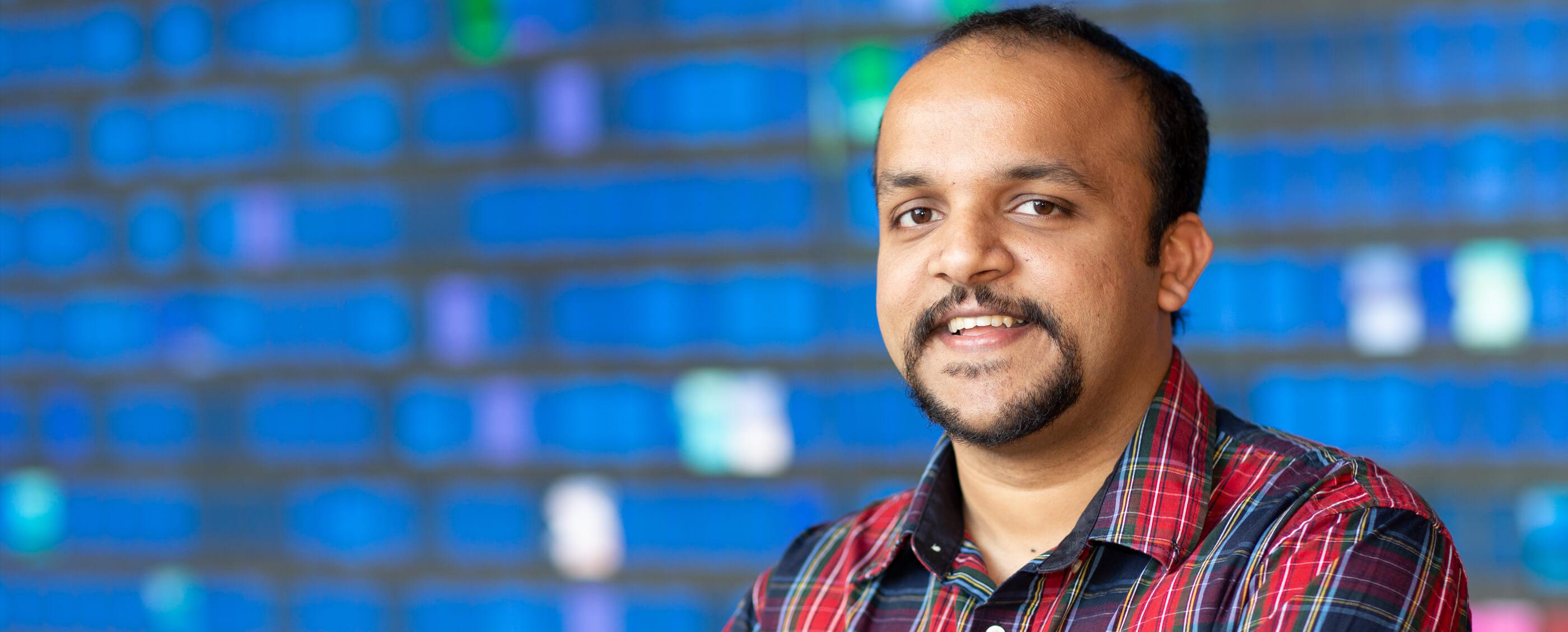 Ashutosh Thakur, PhD '20. Credit: Jae Hyuck Park, OIT PhD candidate