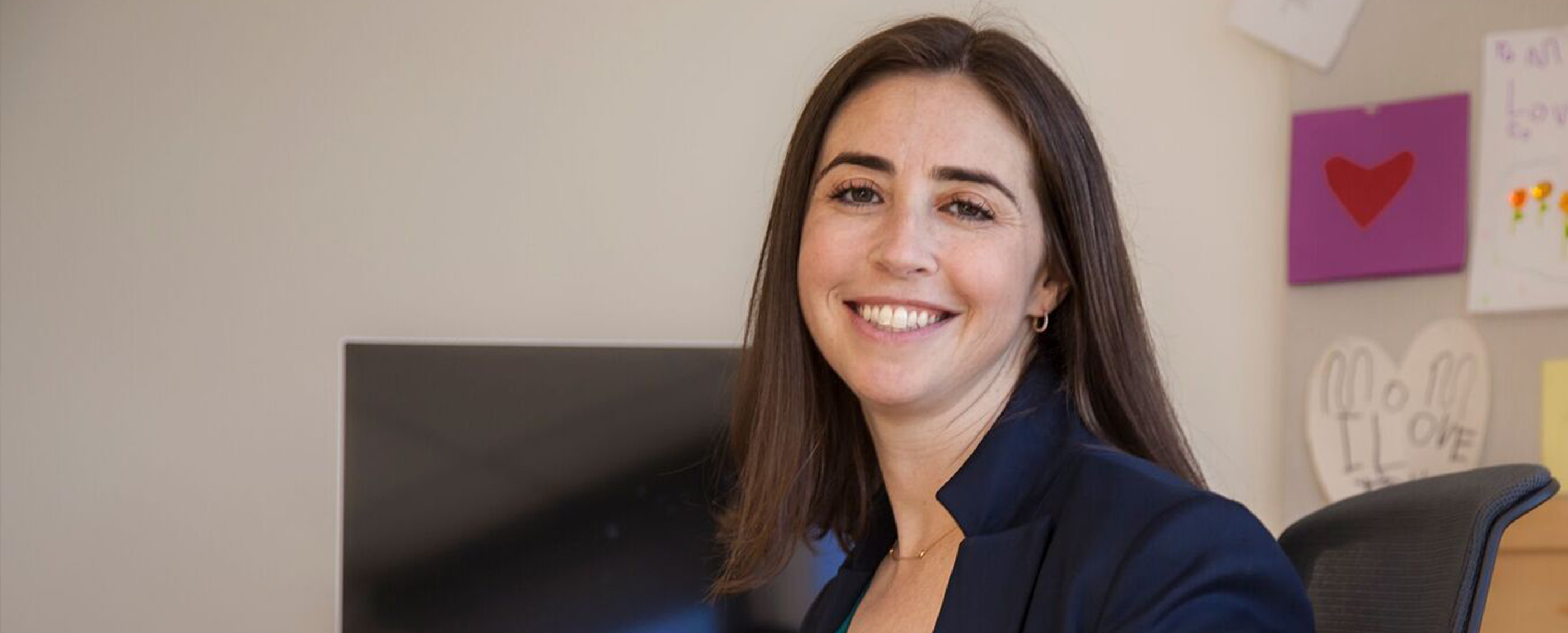 Celina Johnson, MBA '08. Credit: Emily Billings