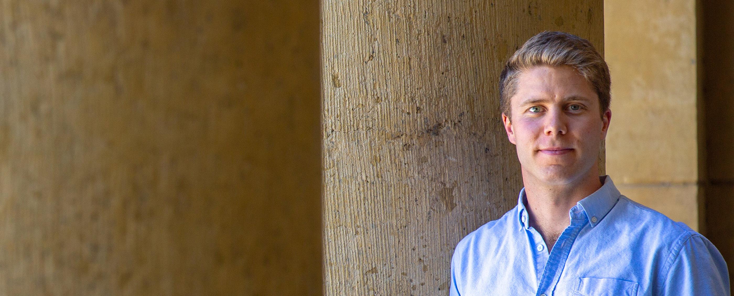 Sam Shapiro, MBA '19, Credit: Kiefer Hickman