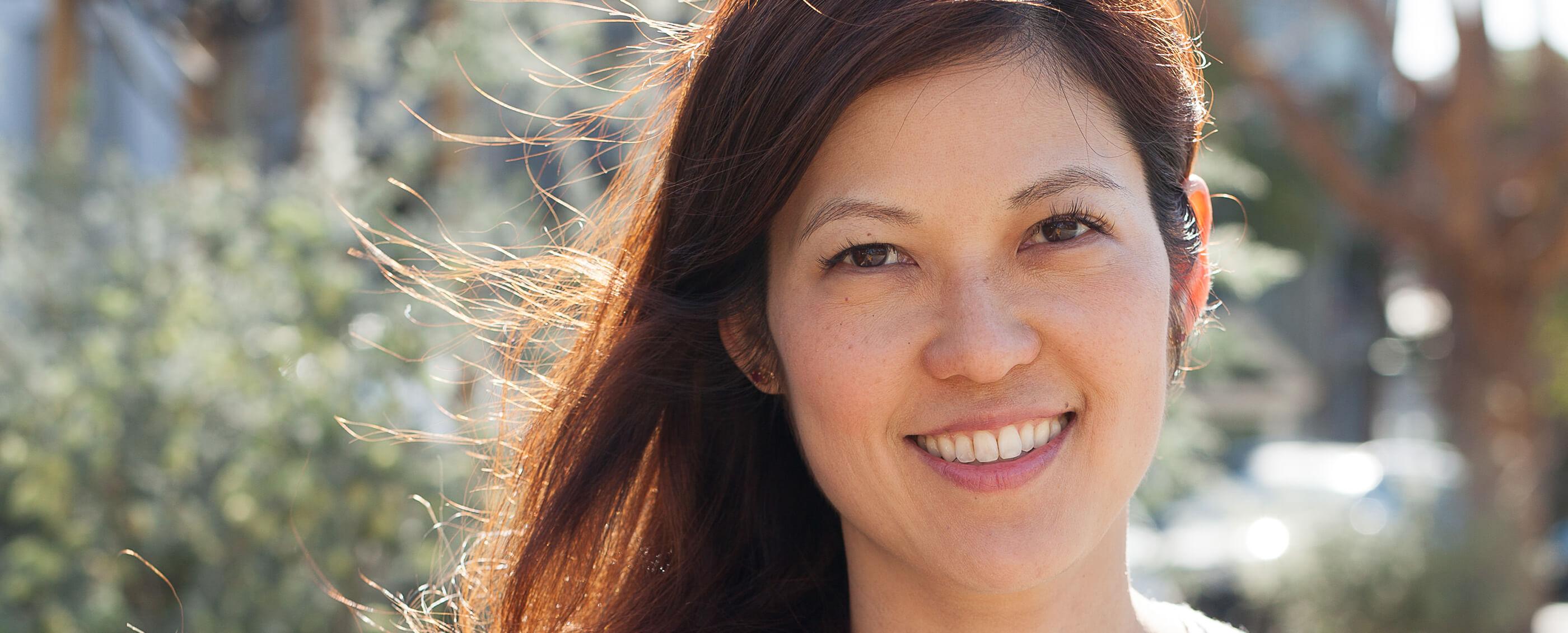 Jenny Eu, MBA '03. Credit: Erika Cole