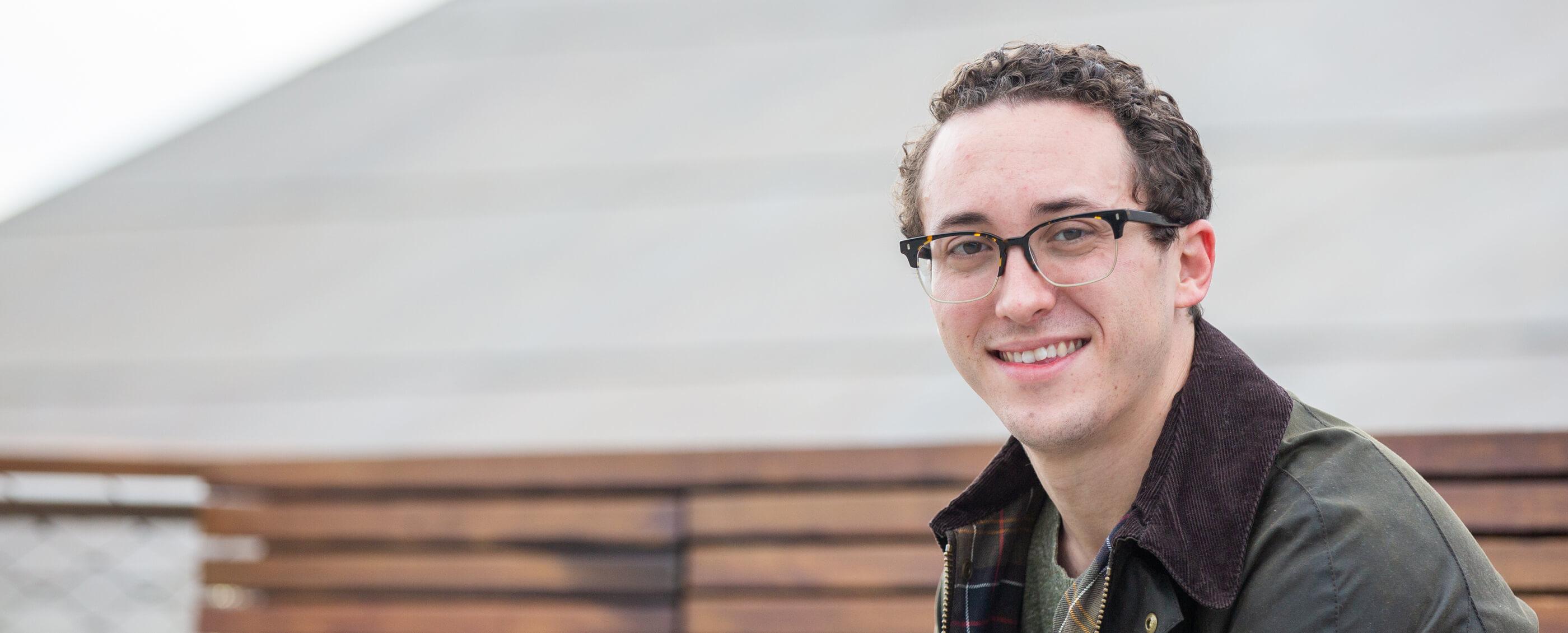 Samuel Leiter, MBA '20. Credit: Kiefer Hickman
